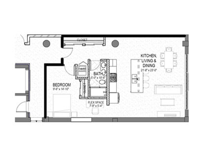 kaleidoscope design inc graphic design floor plan smyth lofts apartments minneapolis mn minnesota